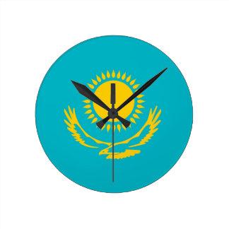 Reloj de la bandera de país de Kazajistán