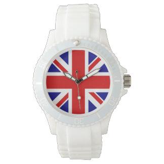 Reloj de la bandera de Union Jack