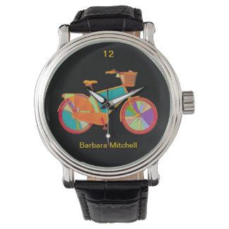reloj de la bici del color