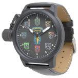 Reloj de la boina verde de las fuerzas especiales