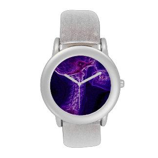 Reloj de la C-espina dorsal de la púrpura/de Fushi