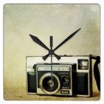 Reloj de la cámara del vintage de Kodak Instamatic