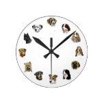 Reloj de la cara del perro