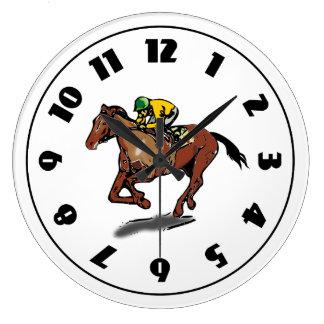 Reloj de la carrera de caballos