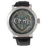 Reloj de la celebración de Craig Escocia del clan