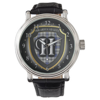 Reloj de la celebración de Hannay Escocia del clan