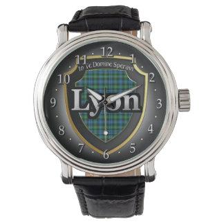 Reloj de la celebración de Lyon Escocia del clan