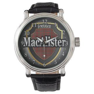 Reloj de la celebración de MacAlister Escocia del