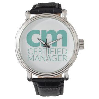 Reloj de la certificación del cm
