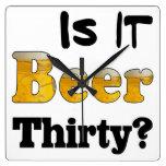 Reloj de la cerveza treinta