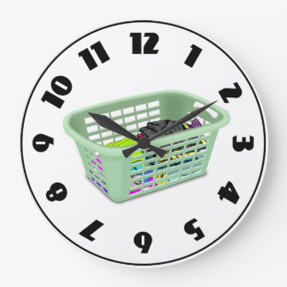 Reloj de la cesta de lavadero