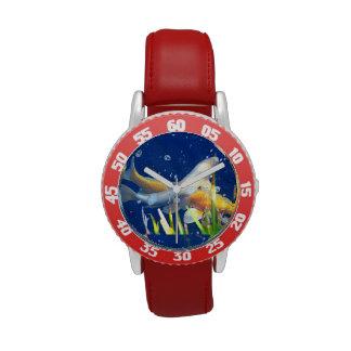 reloj de la charca del koi