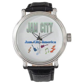 Reloj de la ciudad del atasco