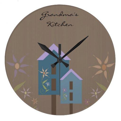 Reloj de la cocina de la abuela