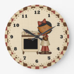 Reloj de la cocina del dibujo animado