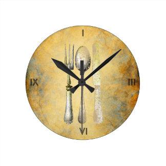 Reloj de la cocina del encanto del vintage