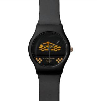 Reloj de la compañía del taxi