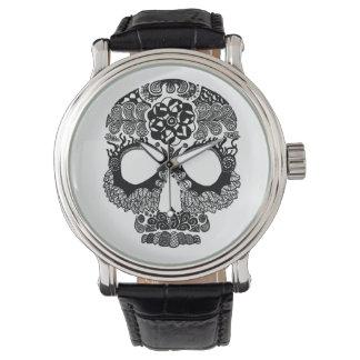 Reloj de la correa del vintage de Muerte de la