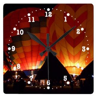 Reloj de la demostración del resplandor