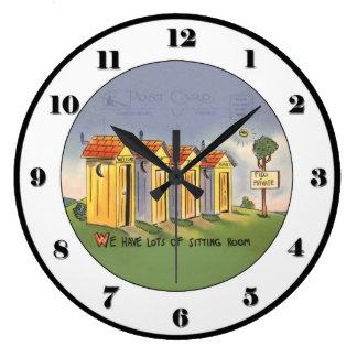 Reloj de la dependencia del vintage
