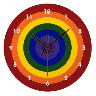Reloj de la diana del arco iris