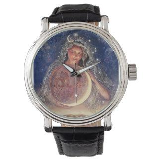 Reloj de la diosa de la luna