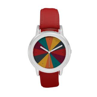 Reloj de la diversión de la rueda de color