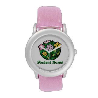 Reloj de la enfermera de estudiante