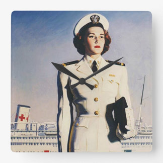 Reloj de la enfermera de la marina de guerra del