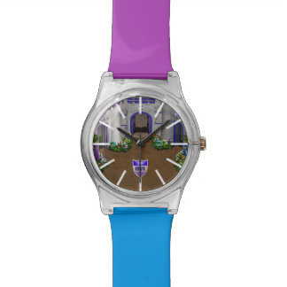 Reloj de la entrada de MyVirtualKingdom