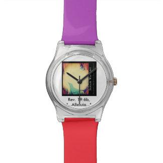 Reloj de la escritura de la aleluya de Ishah Wrigh
