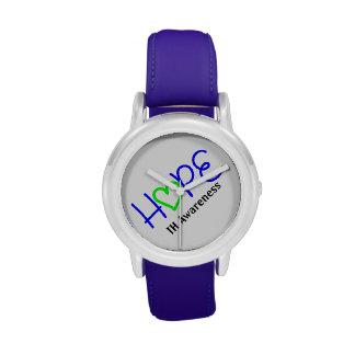 Reloj de la esperanza de la conciencia de IH