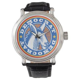 Reloj de la fan de Demócrata