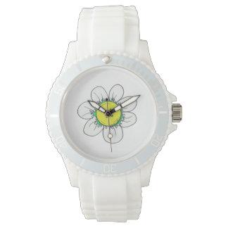 Reloj de la flor del botón