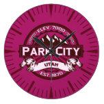 Reloj de la frambuesa de Park City