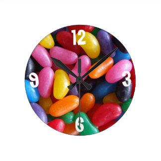 Reloj de la haba de jalea