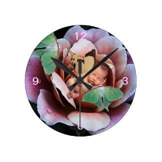 Reloj de la hada de la mariposa el dormir