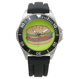 Reloj de la hamburguesa
