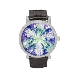 Reloj de la impresión del iris
