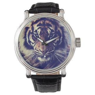 ¡Reloj de la impresión del tigre! Relojes De Pulsera