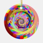 Reloj de la insinuación adornos de navidad