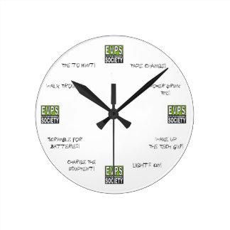 Reloj de la investigación de EVPS