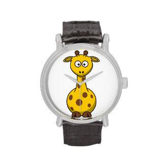 Reloj de la jirafa