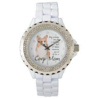 Reloj de la mamá del Corgi