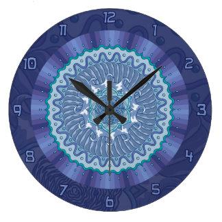 Reloj de la mandala del agua