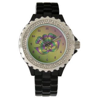 Reloj de la máscara del carnaval