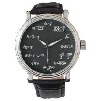 Reloj de la matemáticas