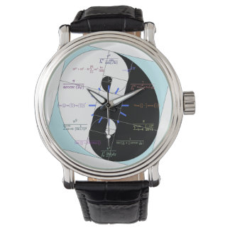 Reloj de la matemáticas (coeficiente de oro Yin y