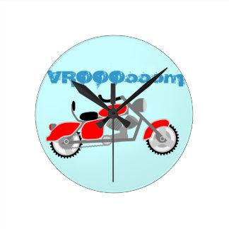 Reloj de la moto de los niños