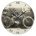 Reloj de la motocicleta del vintage